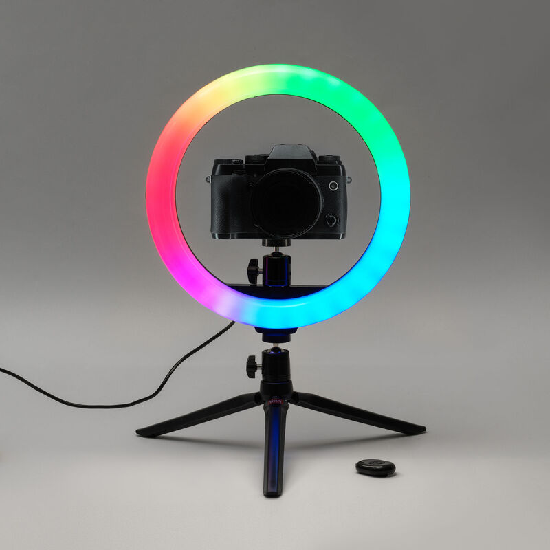 Lampada Led ad Anello per Selfie - Queen of the Ring, , zoo