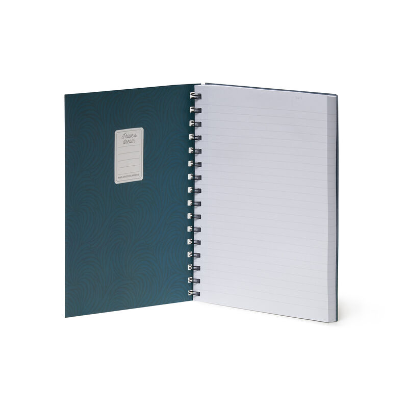 Lined Spiral Notebook A5, , zoo