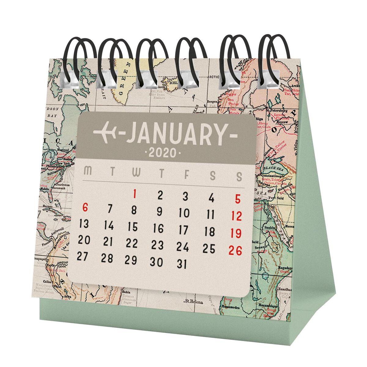 2020 - Micro Calendar, , zoo