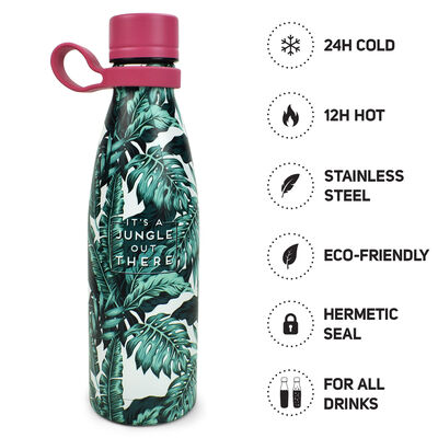 Hot&Cold - Bottiglia Termica 500 ml - Jungle