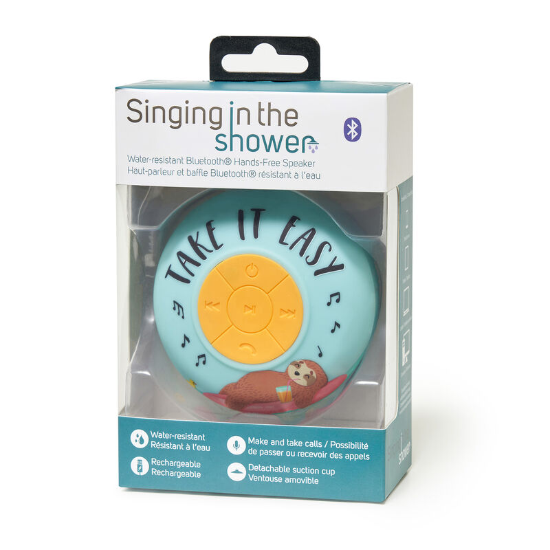 Singing in the Shower - Water-resistant Bluetooth® Hands-free Speaker, , zoo