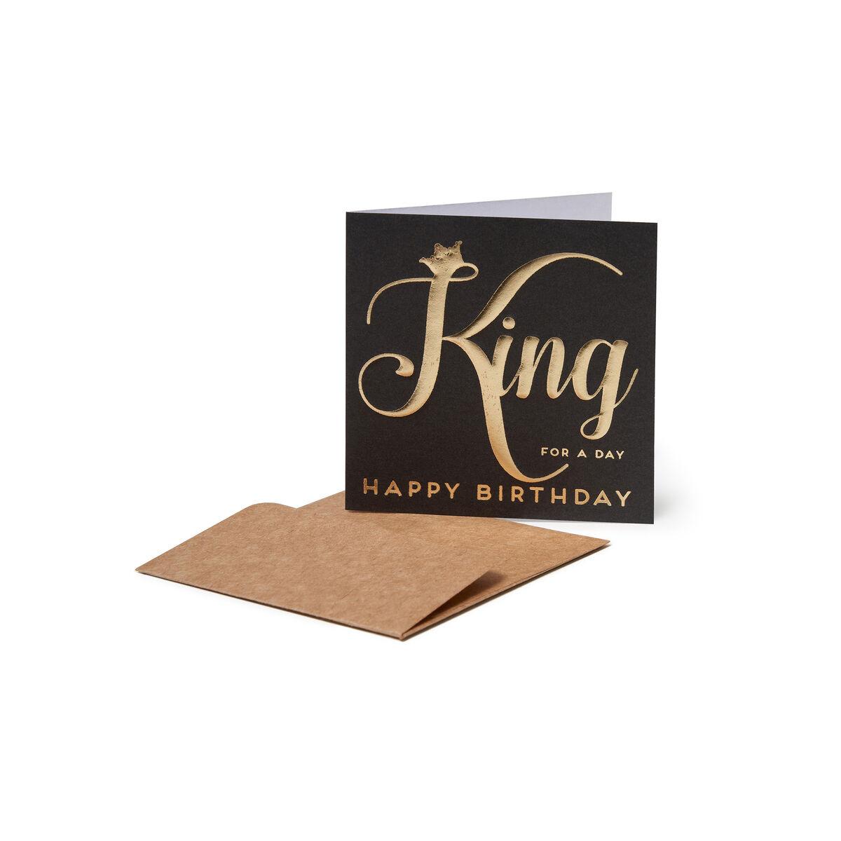 Greeting Cards - Re per Un Giorno, , zoo