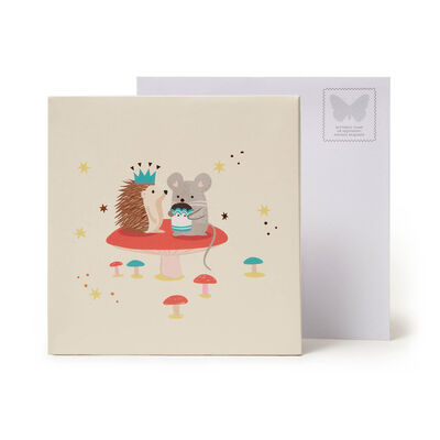 Large Pop Up Greeting Card - Woodland Animals