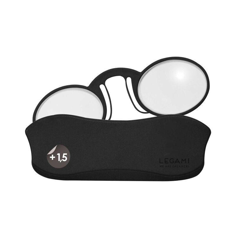 Mini Reading Glasses Pince-Nez - Reading Glasses, +1,5 Dioptre, , zoom