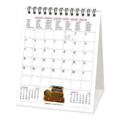 Calendario da Tavolo 2021 - 12x14.5 Cm