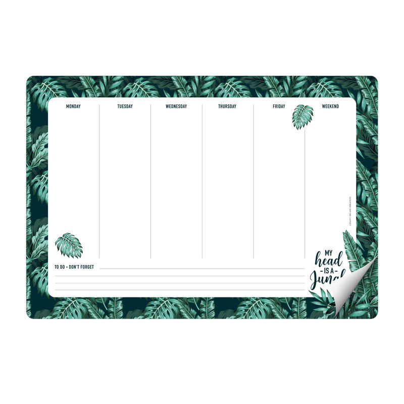Smart Notes - Paper Mousepad and Notepad, , zoo