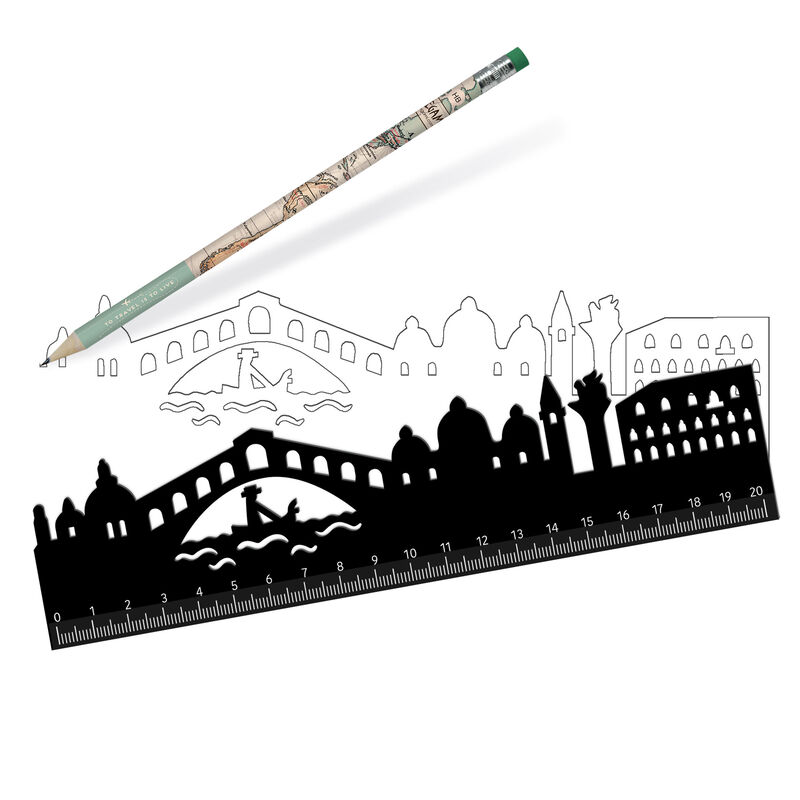 Follow The Skyline Ruler, , zoo