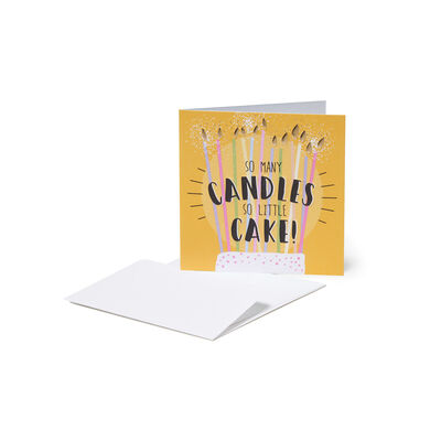 Greeting Cards - Candele