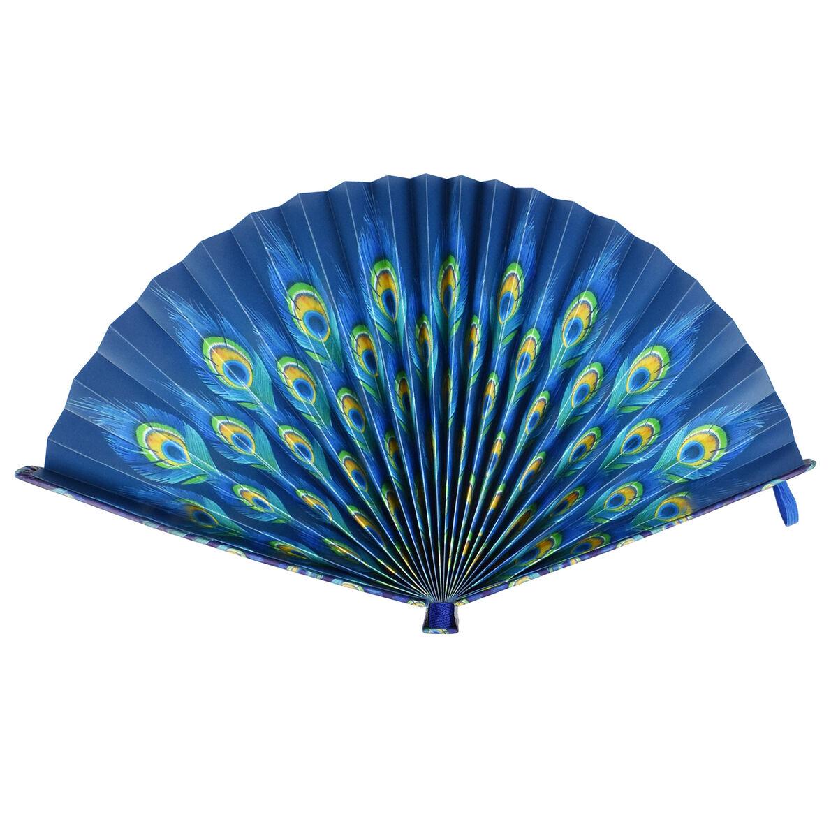 Fiesta&Siesta - Folding Paper Fan, , zoo