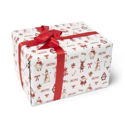 Carta regalo natalizia