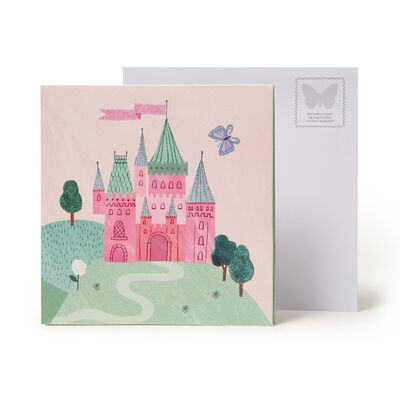 Large Greeting Card Pop Up - Princess & Unicor