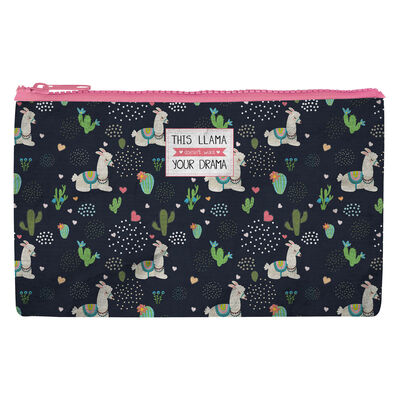 Funky Collection - Zipper Pouch - Drama Llama