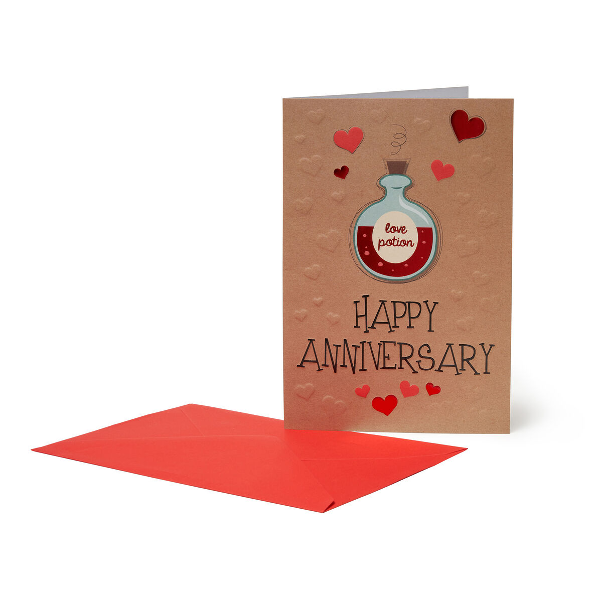 Greeting Card - Happy Anniversary, , zoo