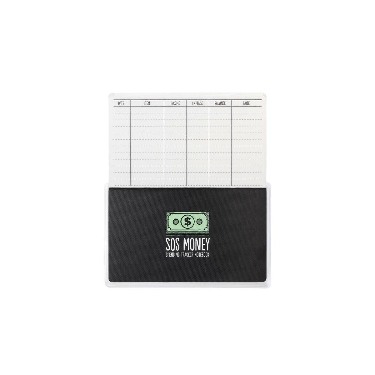 Sos Money - Spending Tracker Notebook, , zoo