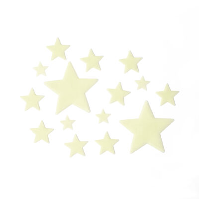Super Stars - Stelle Fosforescenti Adesive