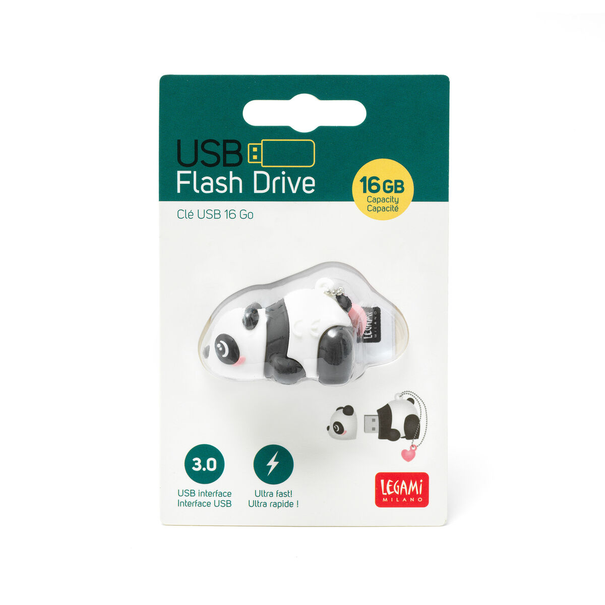 3.0 USB Flash Drive - 16 GB, , zoo