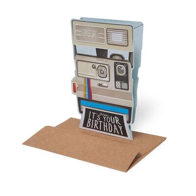 Biglietto di Auguri di Compleanno - Polaroid