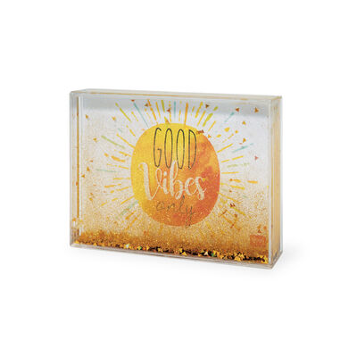 Liquid Glitter Photo Frame - Medium