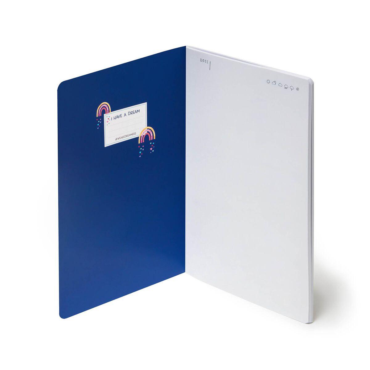 Quaderno Foglio Bianco - A5, , zoo