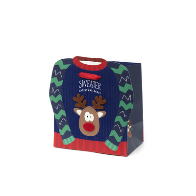 Sacchetto regalo natalizio - Medium