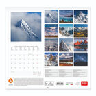Calendario da Parete 2021 - 30x29 Cm, , zoo