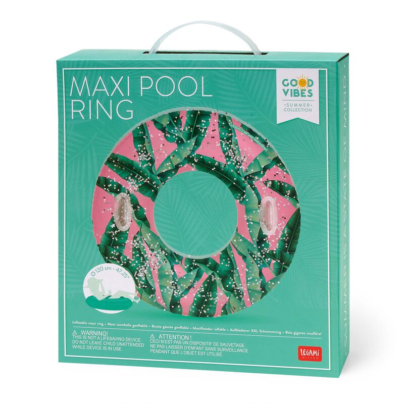 Inflatable Maxi Pool Ring, , zoo