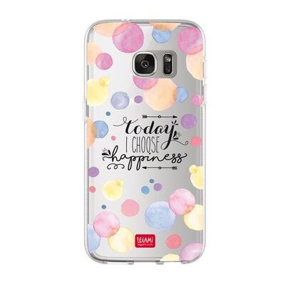 CLEAR COVER SAMSUNG S7 - PANDA