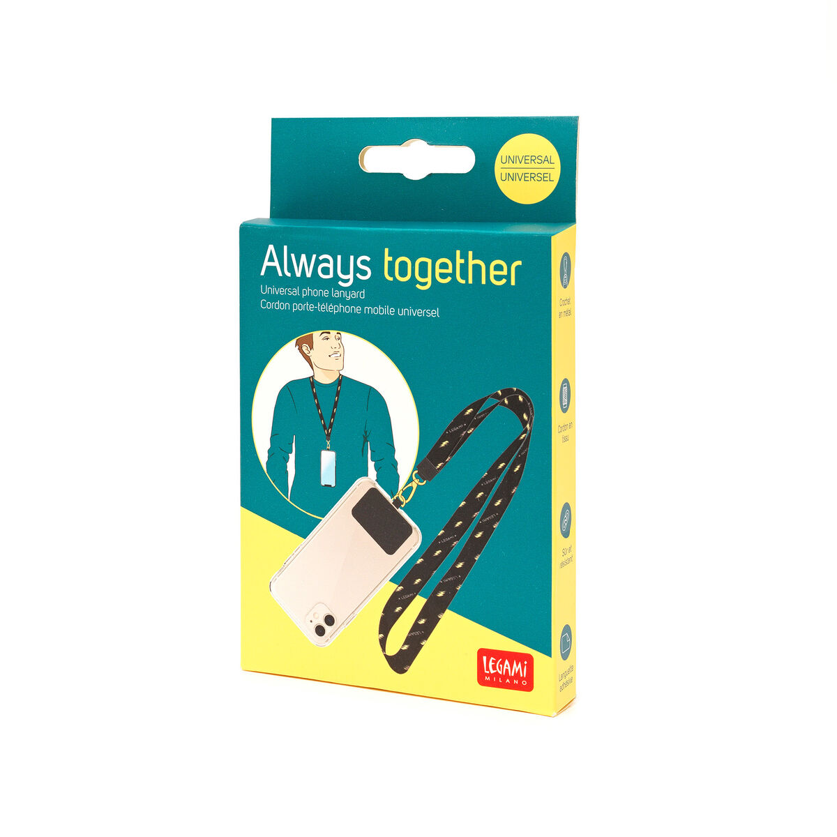 Always Together - Phone Lanyard, , zoo