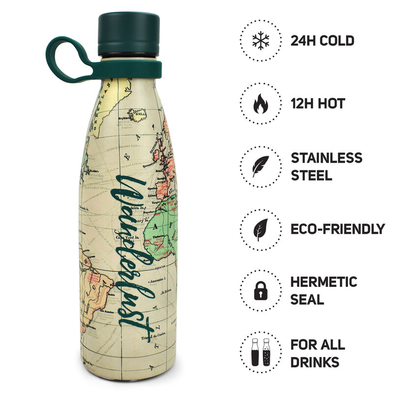 Hot&Cold - 500 Ml Vacuum Bottle, , zoo