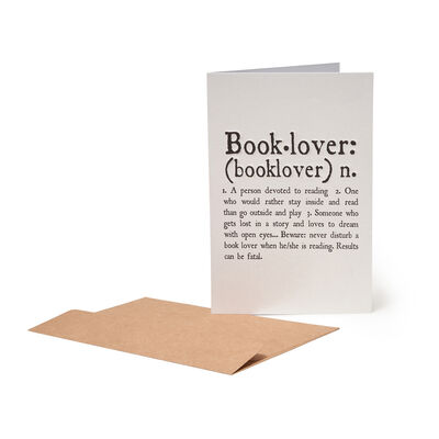 Greeting Cards - Book Lover