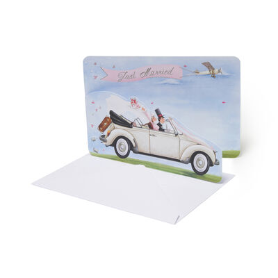 Greeting Card - Just Married