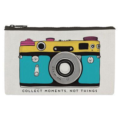Zipper Pouch Funky Collection - Pochette Camera