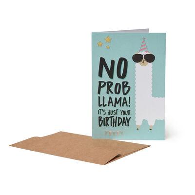 Greeting Cards - No Probllama