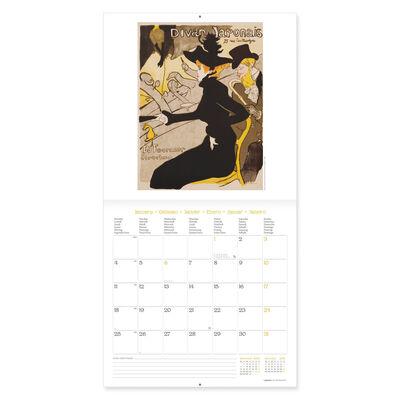 Calendario da Parete 2021 -30x29 Cm