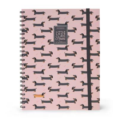 Trio - Quaderno con Spirale 3 in 1 - Foglio A4