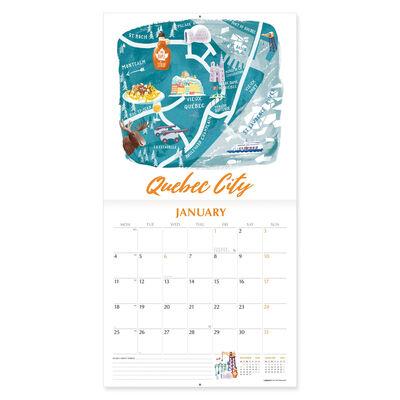Wall Calendar 2021 - 18x18 Cm