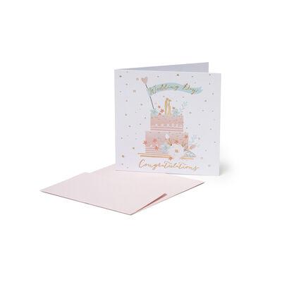 Greeting Cards Congratulations - Torta di Matrimonio