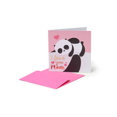 Greeting Cards - Panda