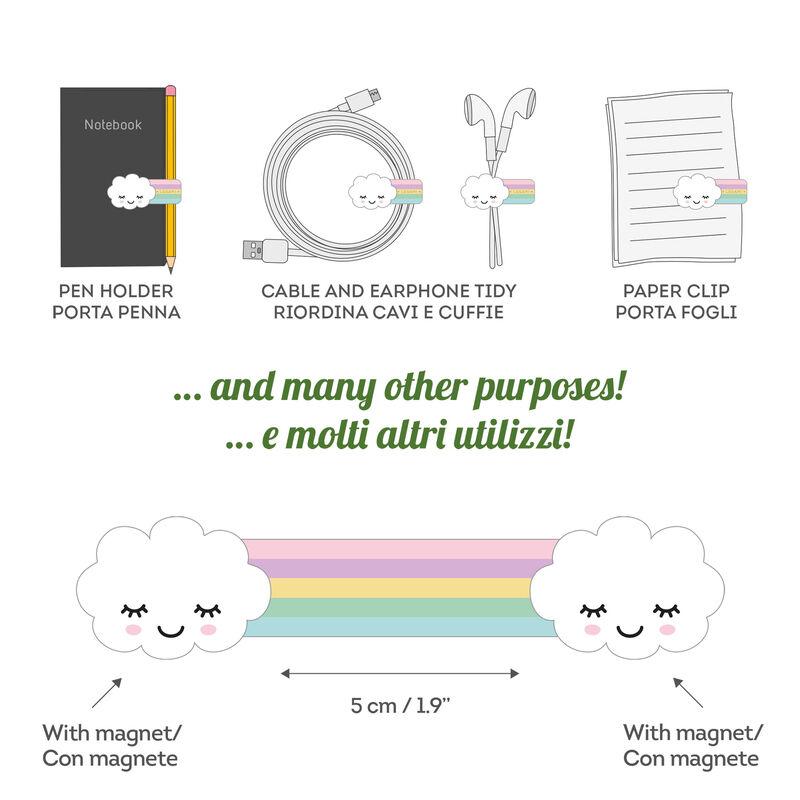 Magnetic Clip - Rainbow, , zoom