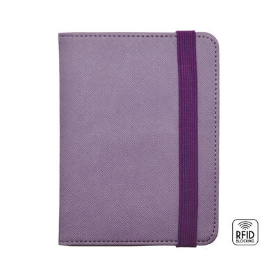 RED PASSPORT HOLDER - RFID BLOCKING