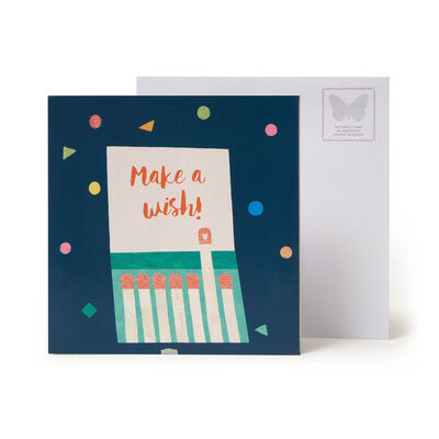 Large Pop Up Greeting Card - Lots of Candles