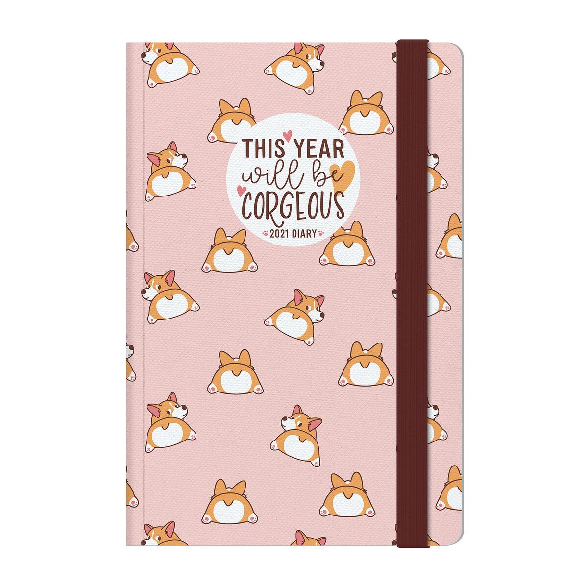 Agenda 12 Mesi Settimanale - Medium con Notebook - 2021, , zoo