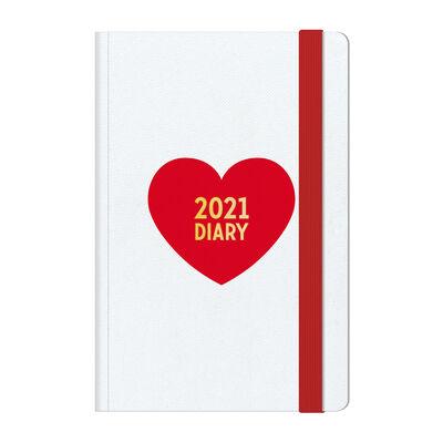 Agenda 12 Mesi Settimanale - Medium con Notebook - 2021