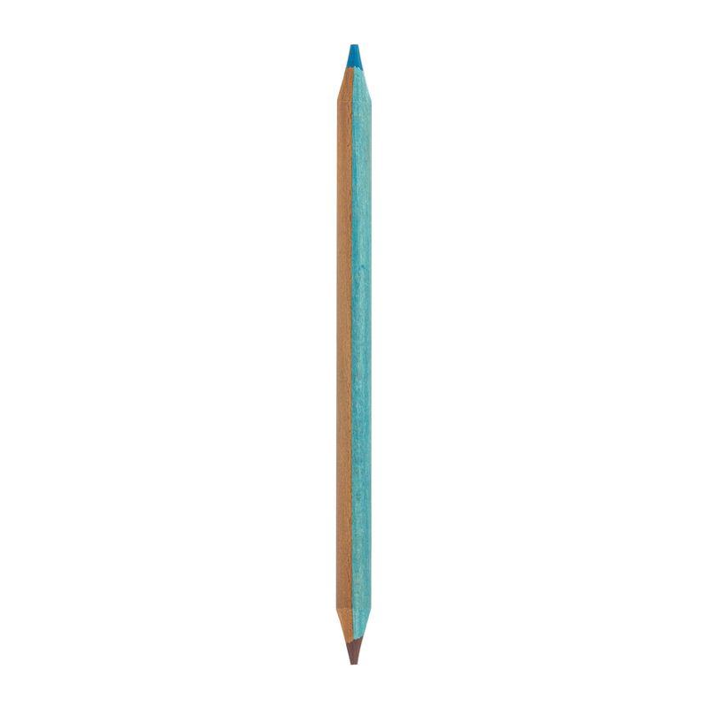 Jumbo 2-Color Pencils - Matita Bicolore, , zoo