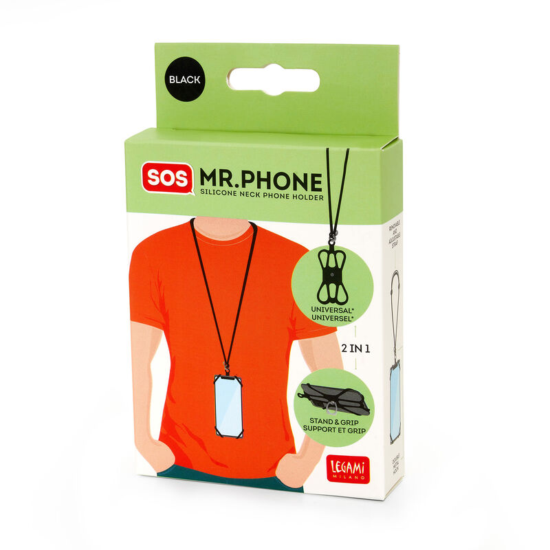 Silicone Neck Phone Holder, , zoom