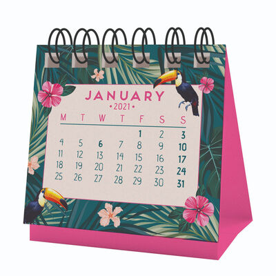 Micro Calendar - 2021