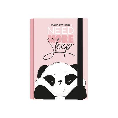 16-Month Weekly Diary - Small With Notebook - 2020/2021