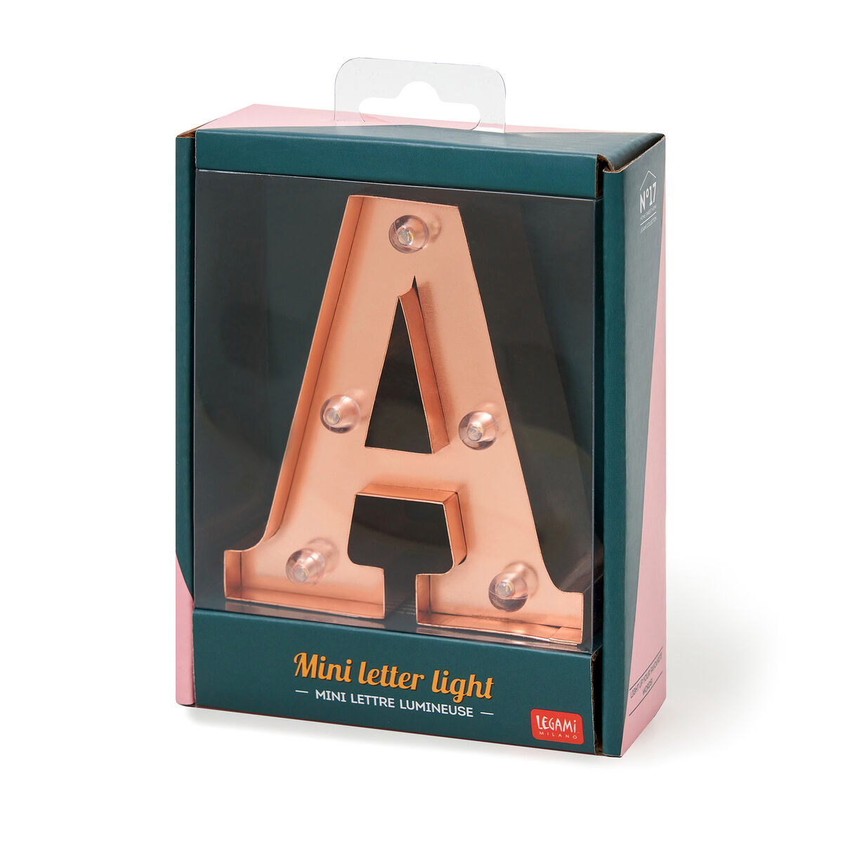 Mini Decorative Letter Light, , zoo