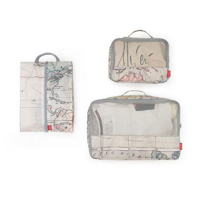 Travel Organizer - Set of Three Travel Bags