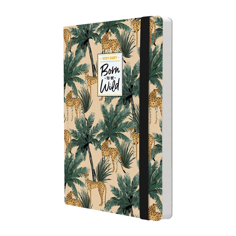 12-Month Weekly Diary - Medium with Notebook - 2021, , zoo